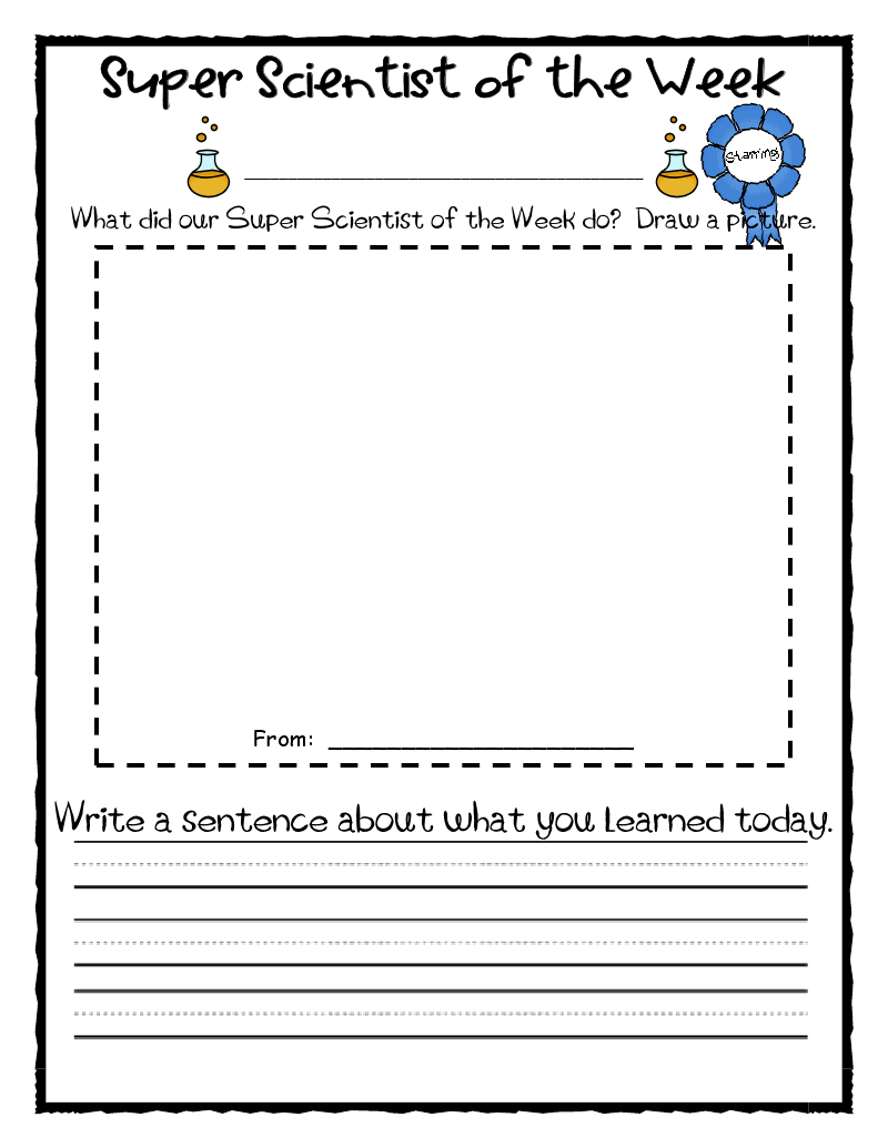 Worksheets Super Scientist Worksheet first grade o w l s super scientist classroom pinterest scientist