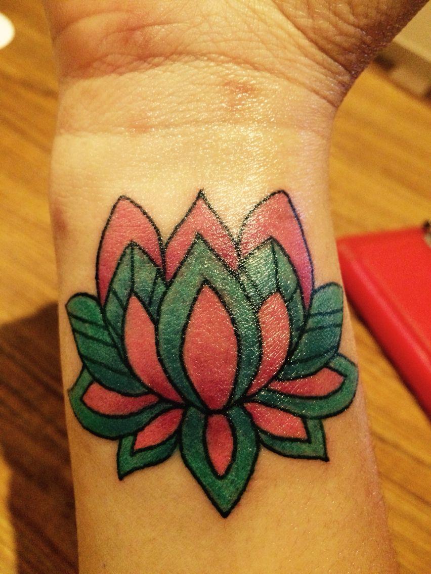 Flor De Loto Que Buen Tatuaje Ana Pinterest