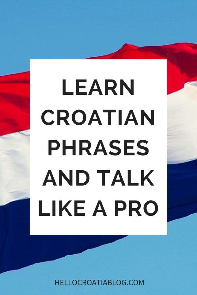 croatian basics for travelers