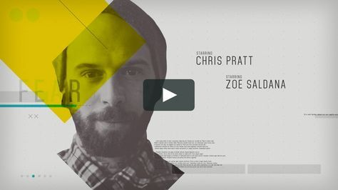 Template Clean Movie Title Movie titles, Template and Motion design