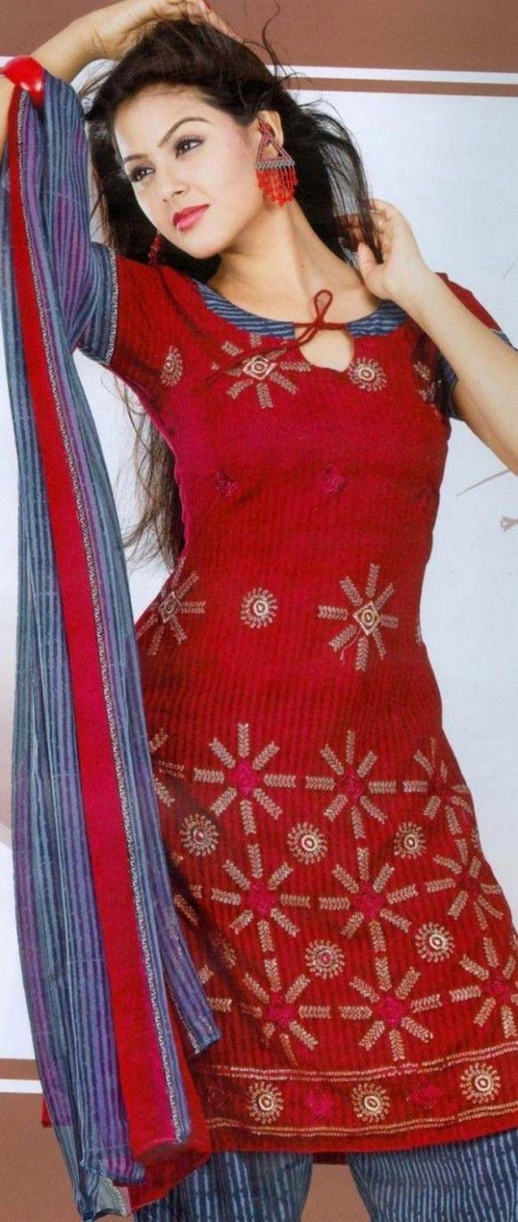 New Neck Designs Catalogue Salwar Kameez | dress | Pinterest