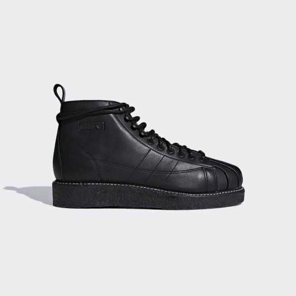 adidas superstar black boots