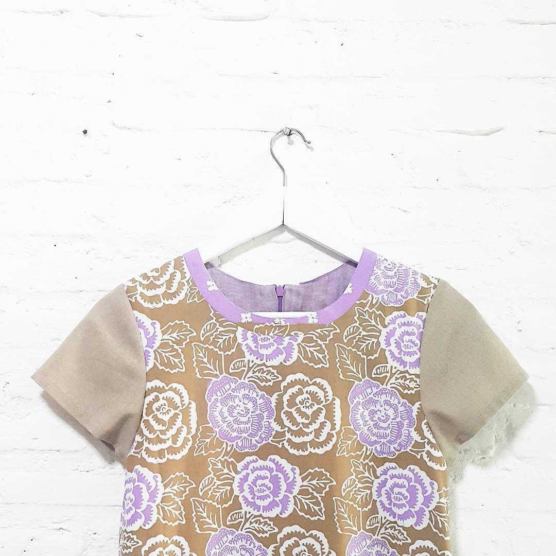 Claire Dress. IDR 675.000 Material : Handstamped Batik