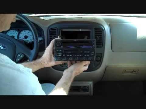 Ford Escape Stereo Removal 2001 2007