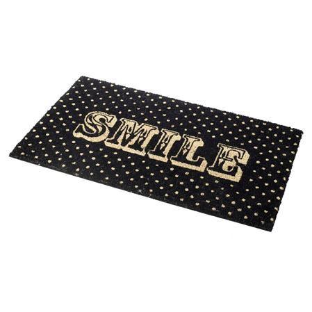 Parl Smile door mat