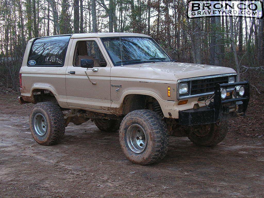 Ford Bronco Ii 1984 1988 Broncograveyard Com For Parts Ford