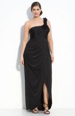 1ae55767f Modelos Vestidos Para Gorditas De Fiesta En Color Negro
