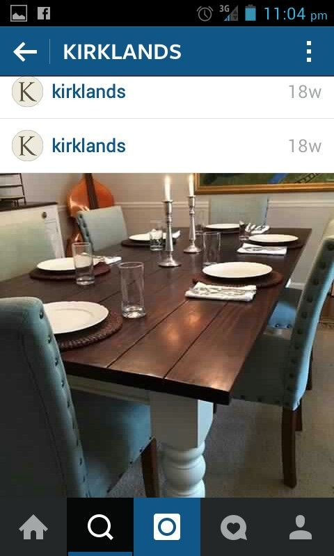 Dinung room table