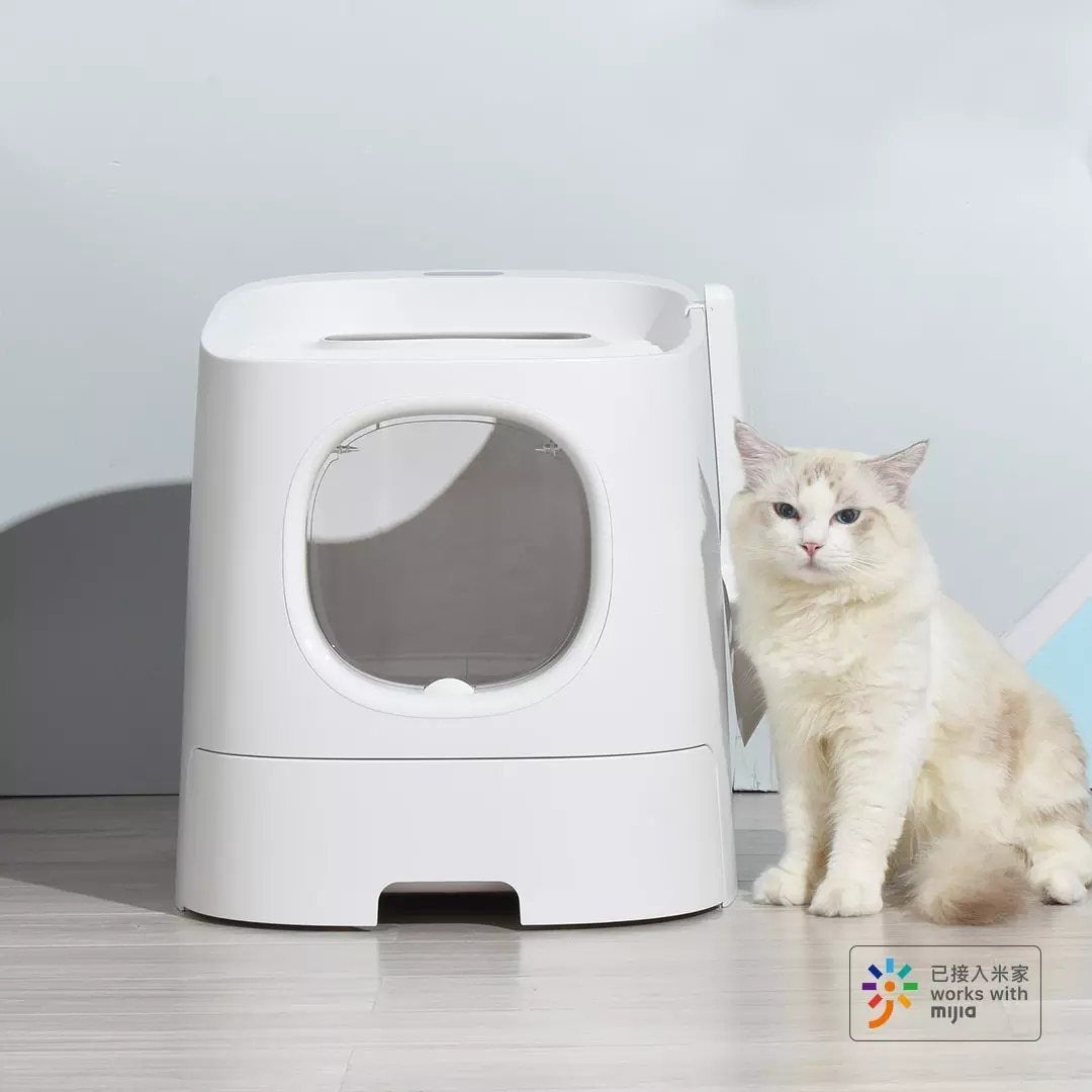 Cat Litter Boxes In 2020 Automatic Cat Litter Cat Litter Box Furniture Cat Litter Box