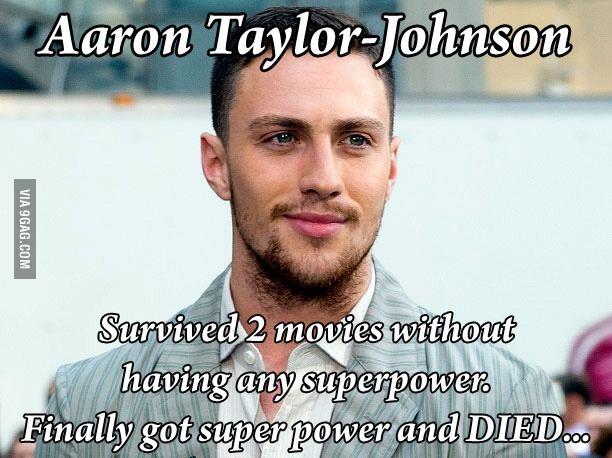 Kickass just become quicksilver & Died... :( | Aaron ...