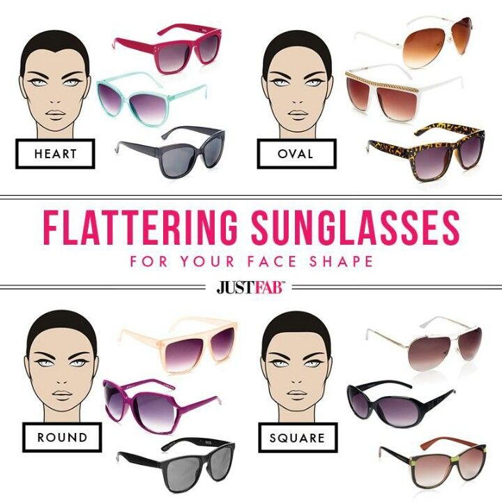 Glasses for your face shape | Marketing | Pinterest | Face shapes ...