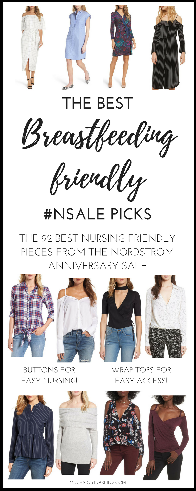 fa9401d4d9b23 Some of my favorite breastfeeding friendly options from the Nordstrom  Anniversary Sale. Because nursing friendly clothing shouldn't be hard to  find!
