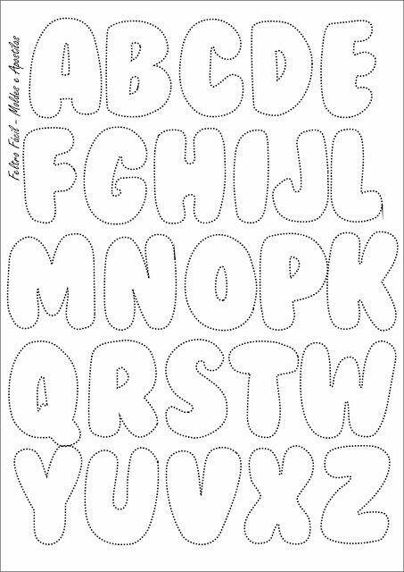 3d Alphabet Buchstaben Basteln Ausschneiden 15