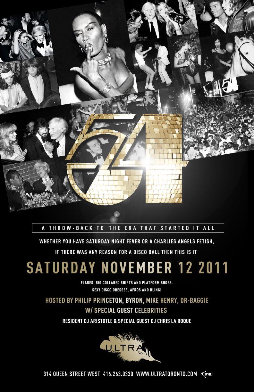 Studio 54 themed invitation | 16 Candles | Pinterest | Studio 54 ...
