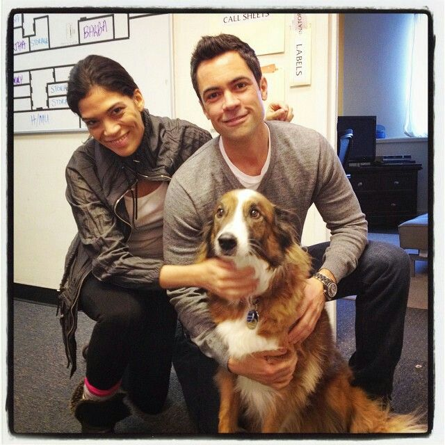 Danny and his dog Mambo (from lg_lauragomez Instagram)
