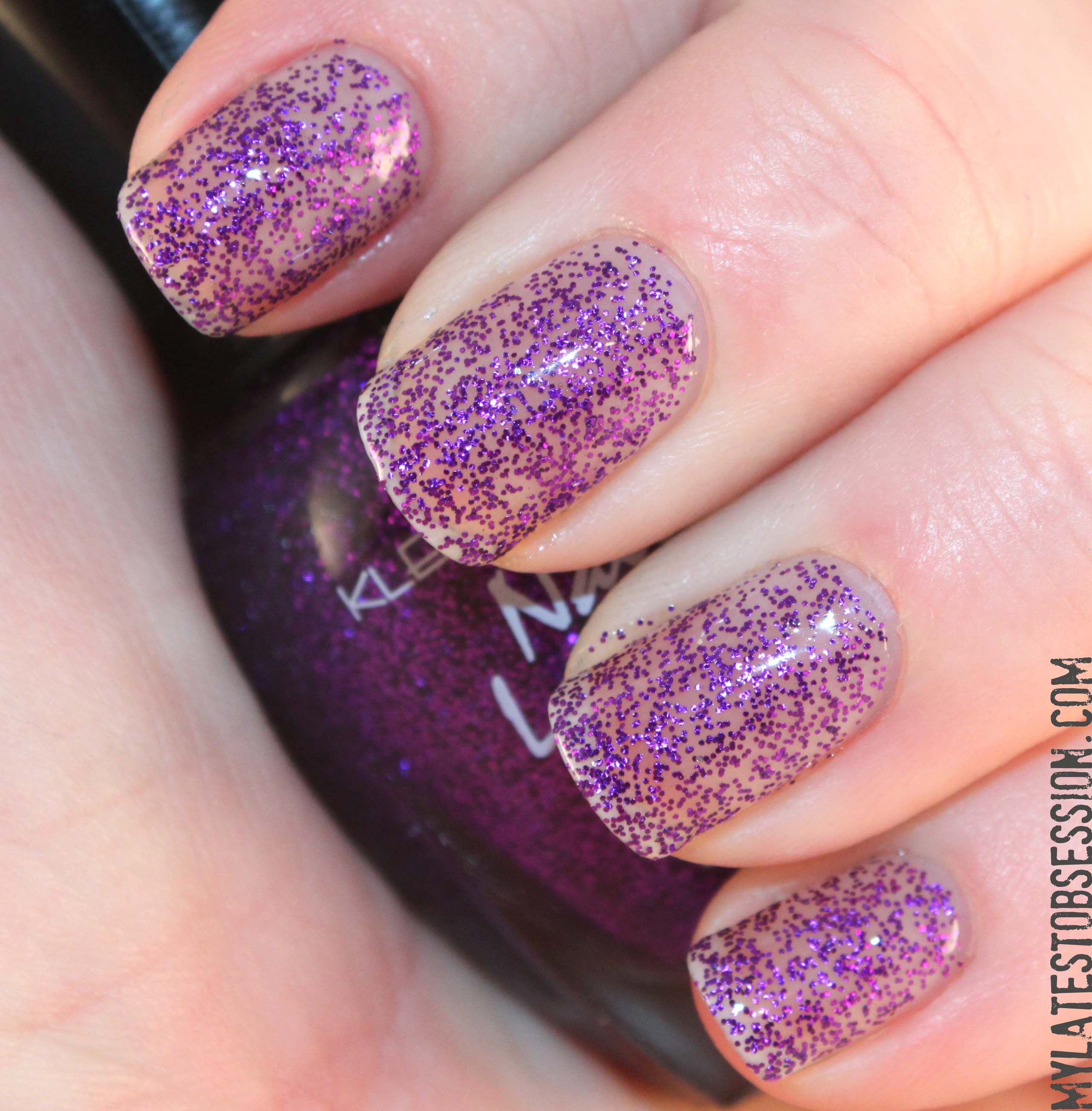 Kleancolor - Sparkle Purple. | Own // BELONGINGS | Pinterest | Top coat