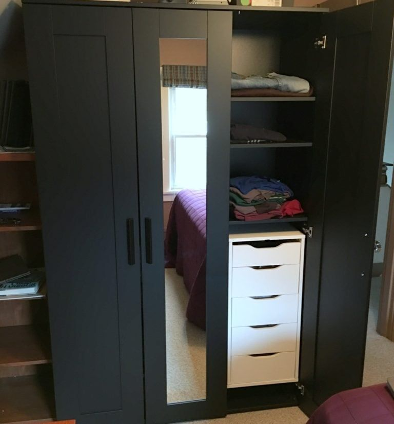 Upgrading Brimnes Wardrobe with Drawer Units – IKEA Hackers