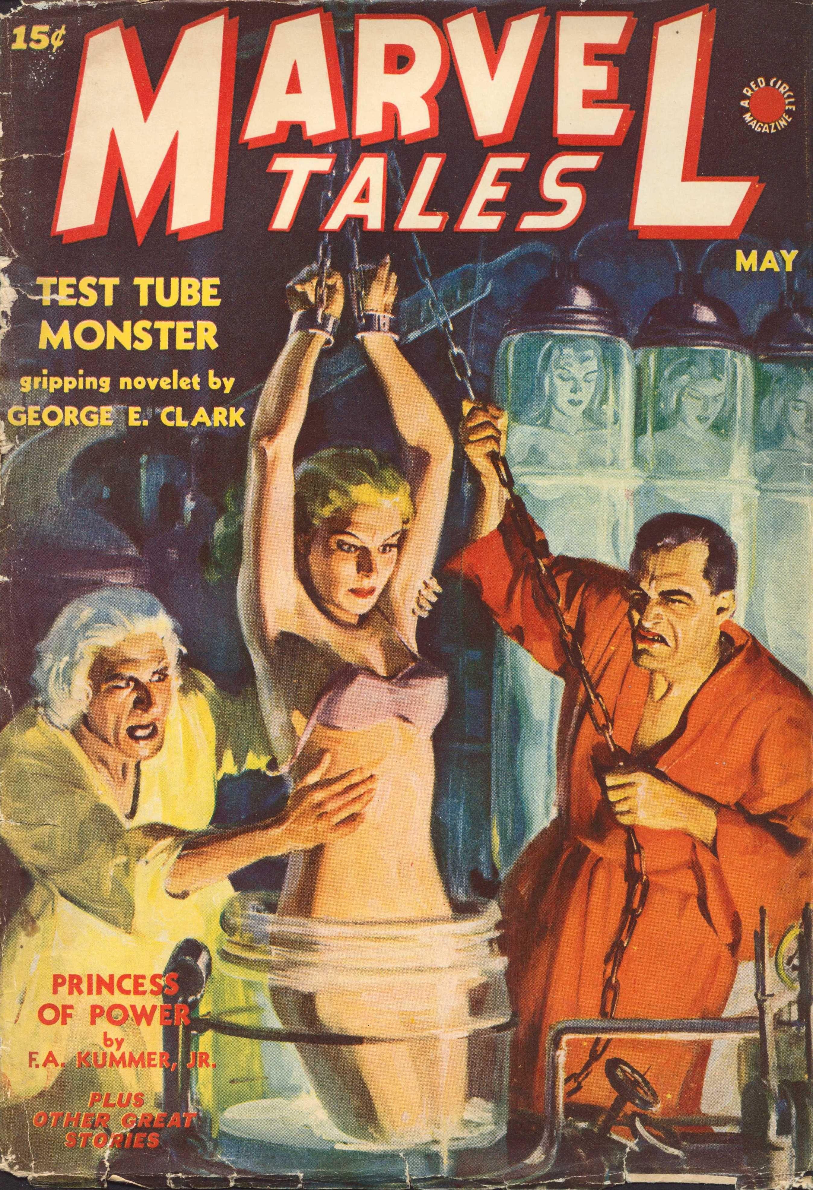 marvel tales (may 1940), coverh. w. scott | scifi - labs