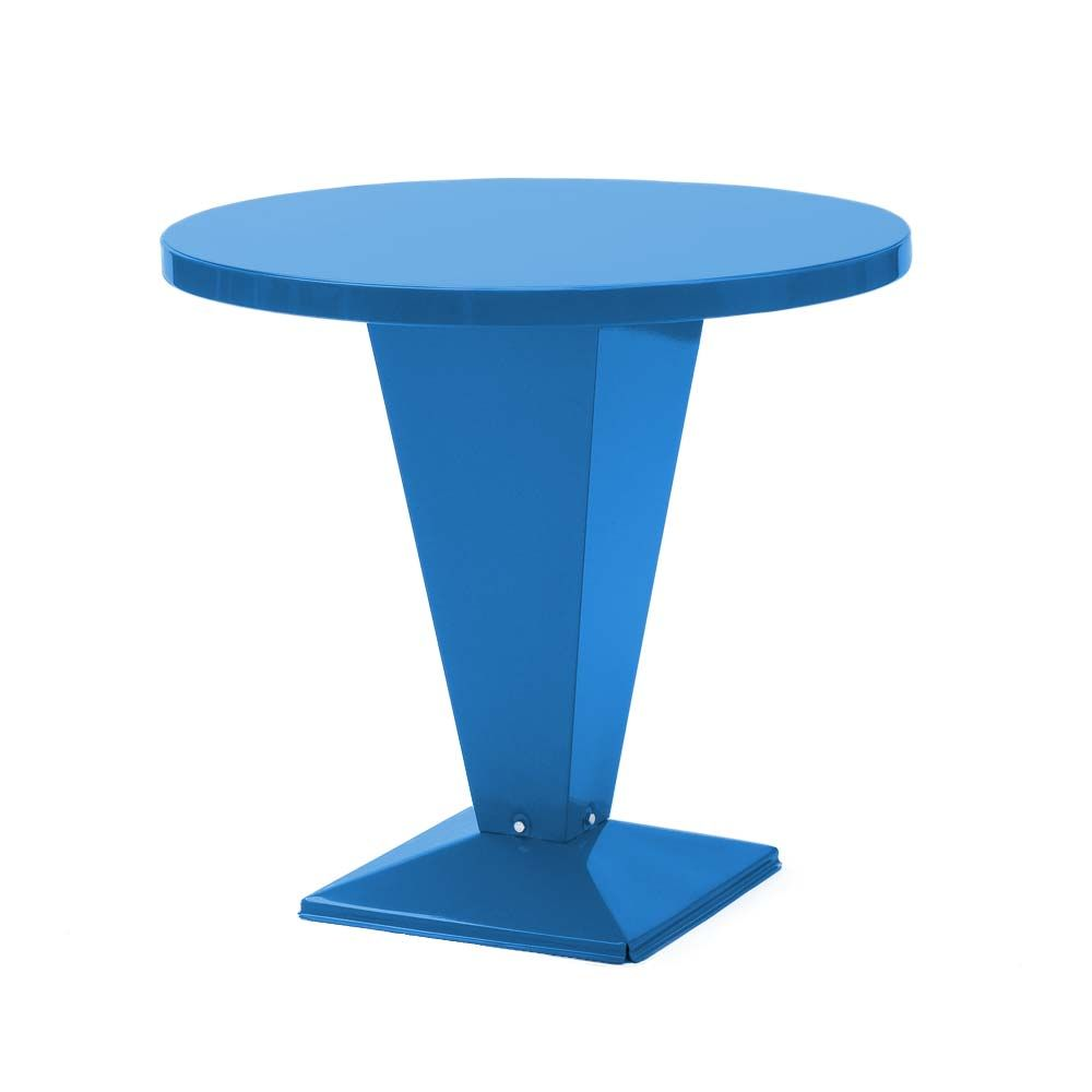 Tolix Bistrotisch Table Kub Glanzend Tischplatte Rund