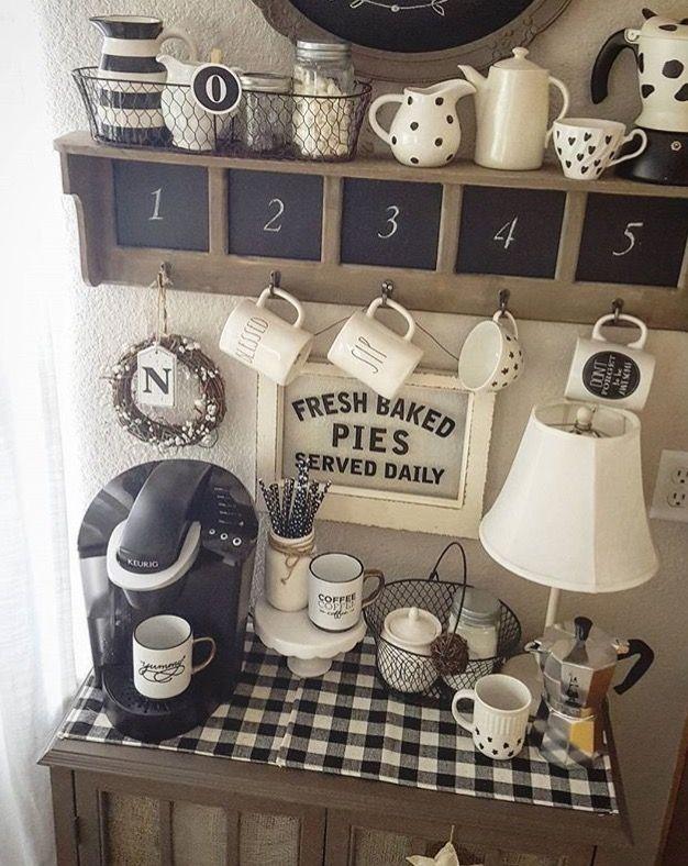 Pin de Monica C en NEW HOUSE - Kitchen   Pinterest   Barra de cafe ...