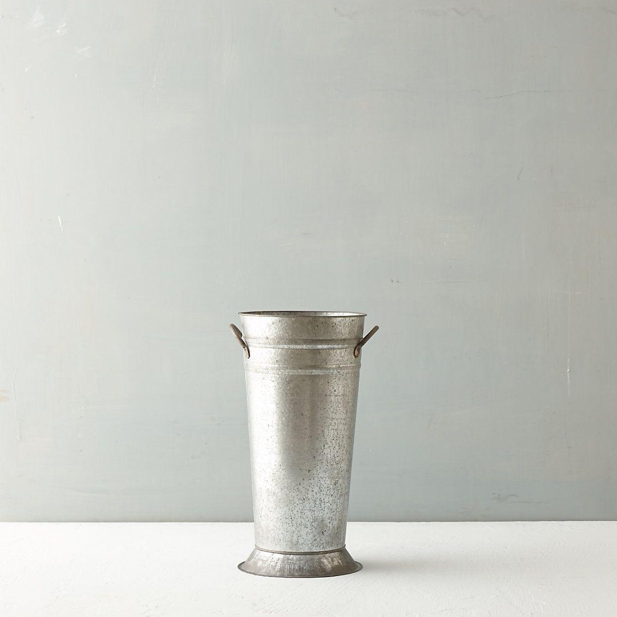 Zinc Florist\'s Vase