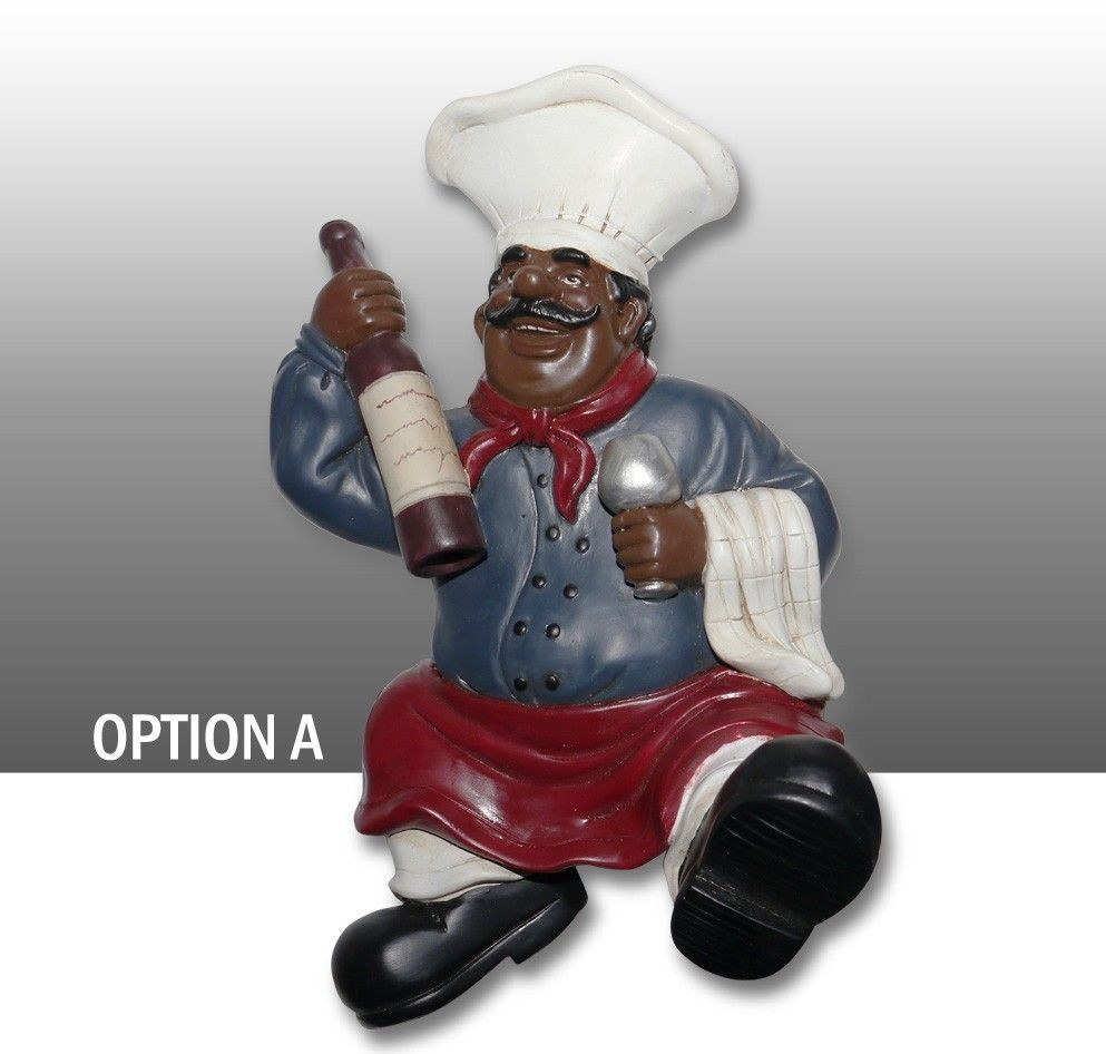 Kitchen Decor African American Guys Bistro Black Happy Chef 3pc Canister Set 89029 By Ack Kitchen Decor Chef Kitchen Decor Decor