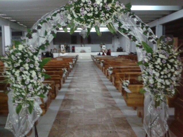 Arco de flores