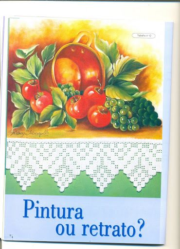 Revista pintura e croche nº 19 - Aparecida Zaramelo - Álbuns da web do Picasa