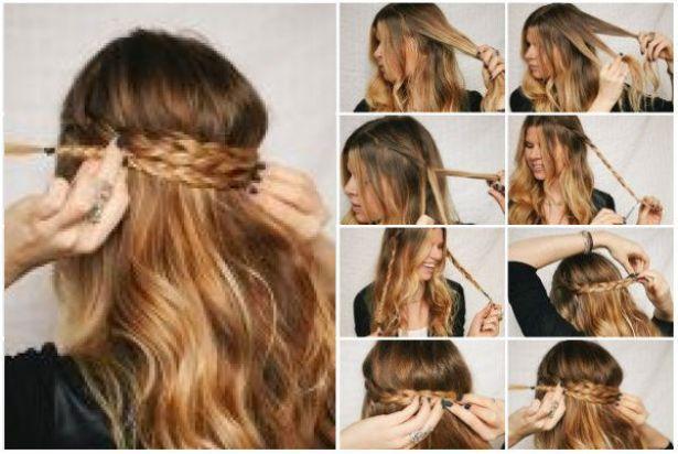 Peinados faciles para la escuela con trenzas buscar con - Ideas para peinados faciles ...