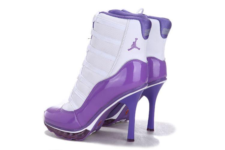 Women Jordan High-heel Boots Wajboots031