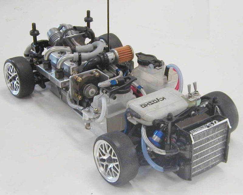 Custom Rc Cars  Custom Made Fw05rr 2 Cylinder 110