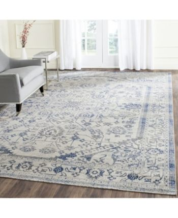 Safavieh Artisan Silver And Blue 8 X 10 Area Rug Silver