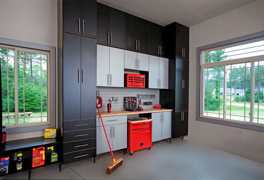 Black And Decker Garage Wall Cabinets