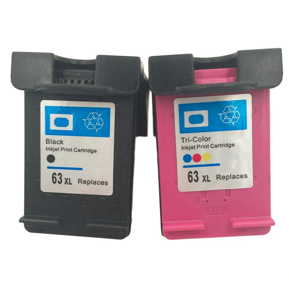 New High Quality Ink Cartridge For Hp 63 Xl Officejet 2620 Ink