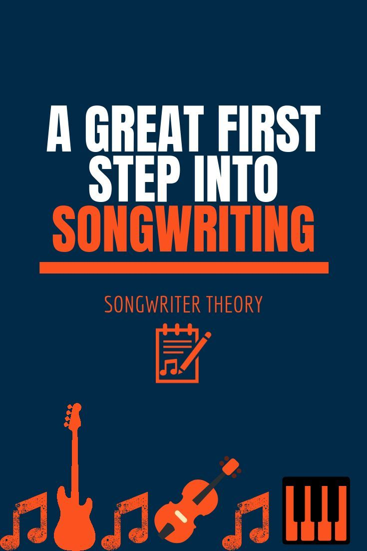 A Great First Step Into Songwriting Writing lyrics