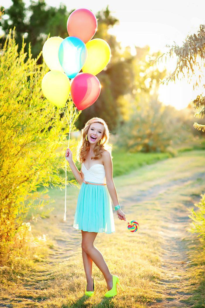 Posh Poses | Solo | Senior Pics | Lolly Pops & Chiffon Skirts | Senior Girls