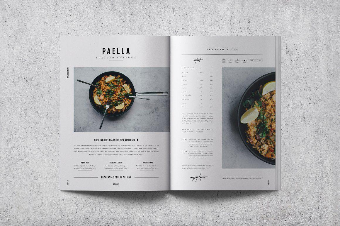 Cookbook Recipe Book V 02 Recipe Book Design Recipe Book Recipe Book Templates