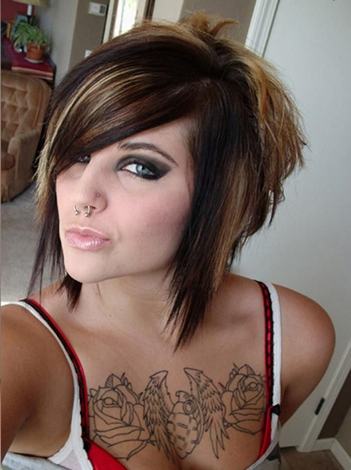 Cute short emo hairstyles insipring hair 3 pinterest short razored haircuts are extremely popular among scene fans whether you do it yourself or ask a professional hair stylist the point is to match it to your solutioingenieria Image collections