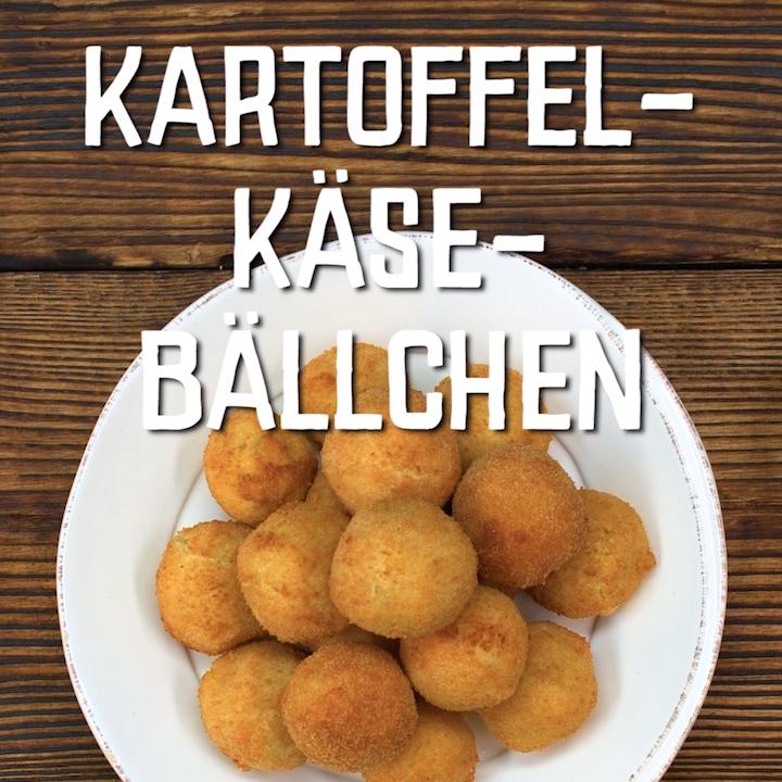 Kartoffel-Käse-Bällchen – Carey&CleanEatingS