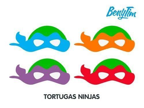 mascaras de tortugas ninja para colorear - Buscar con Google ...