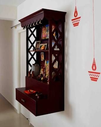 Image result for pooja room designs Pooja room Pinterest Room