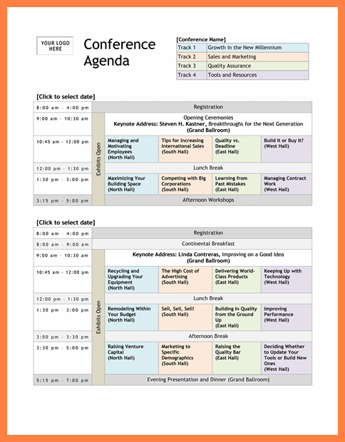 Image Result For Conference Program Design Template Seminar Ideas