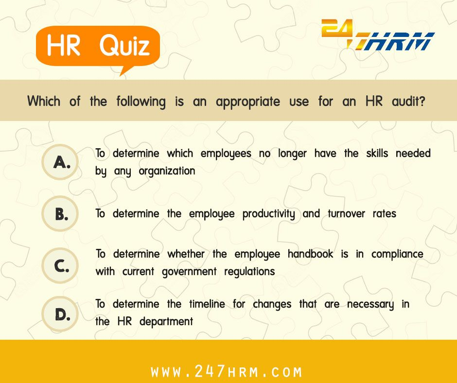 Like or Share if you agree with this! #HRtrivia #247HRM HR Trivia