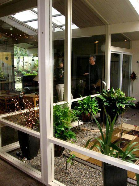 Rummer mid century modern home with atrium | Dream Homes | Pinterest ...