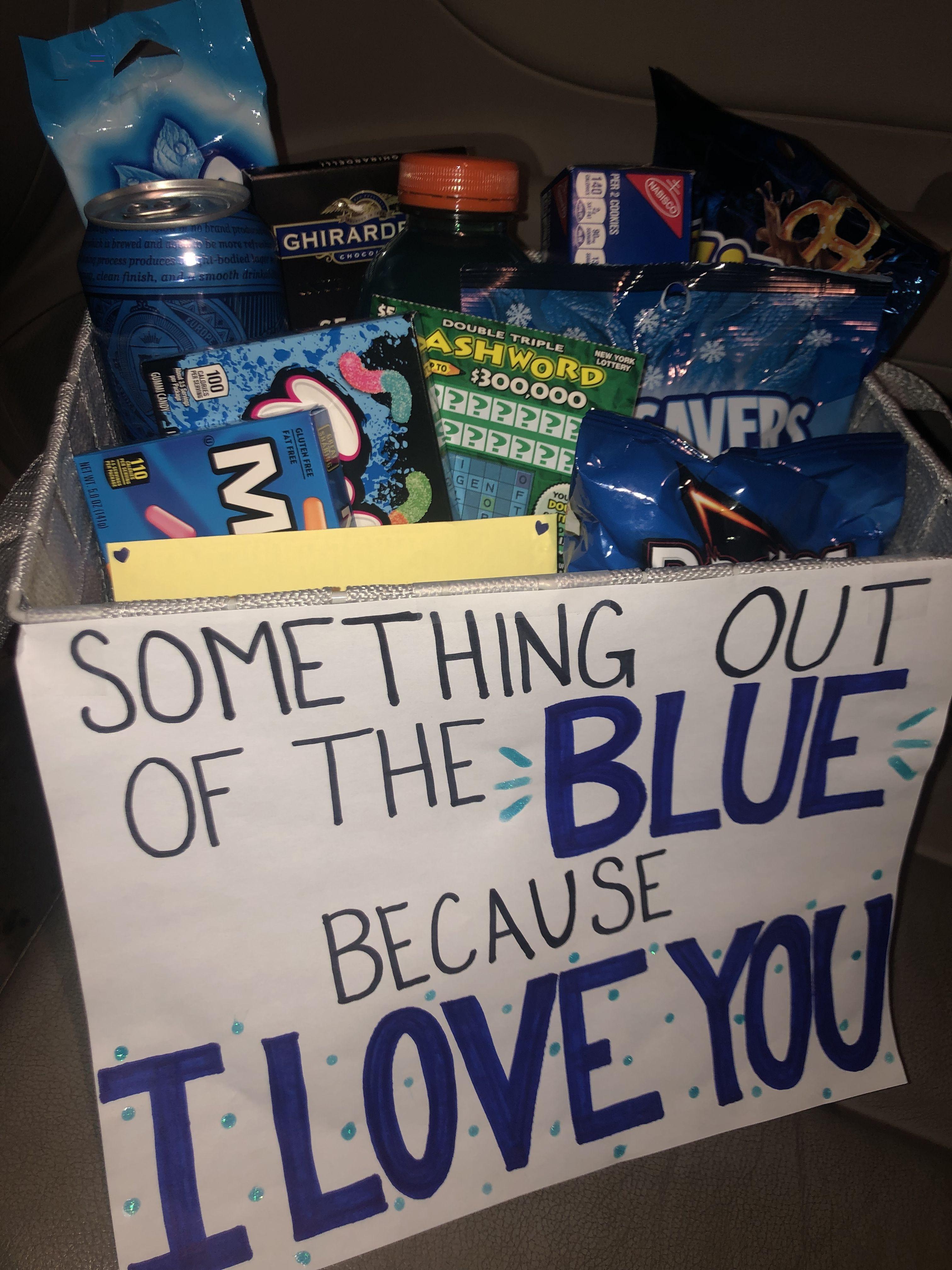boyfriendgiftsdiy in 2020 Gift baskets for him, Cute