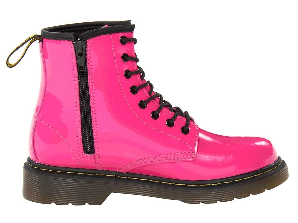 Gute Qualität Dr Martens 1460 Patent Stiefel Kinder Im Rosa