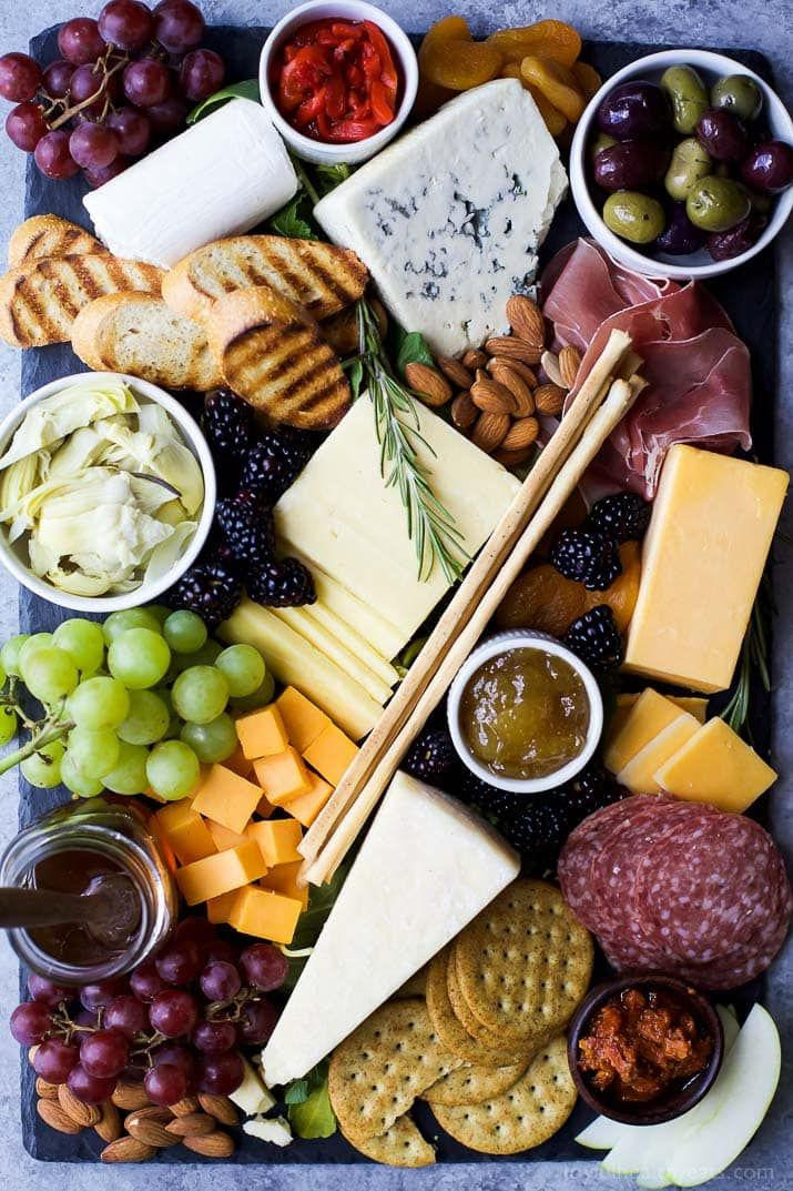 Photo of cheeseboard