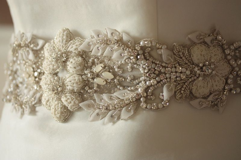 Millie Icaro Heirloom Wedding Dress Sash Belt Paris Romance