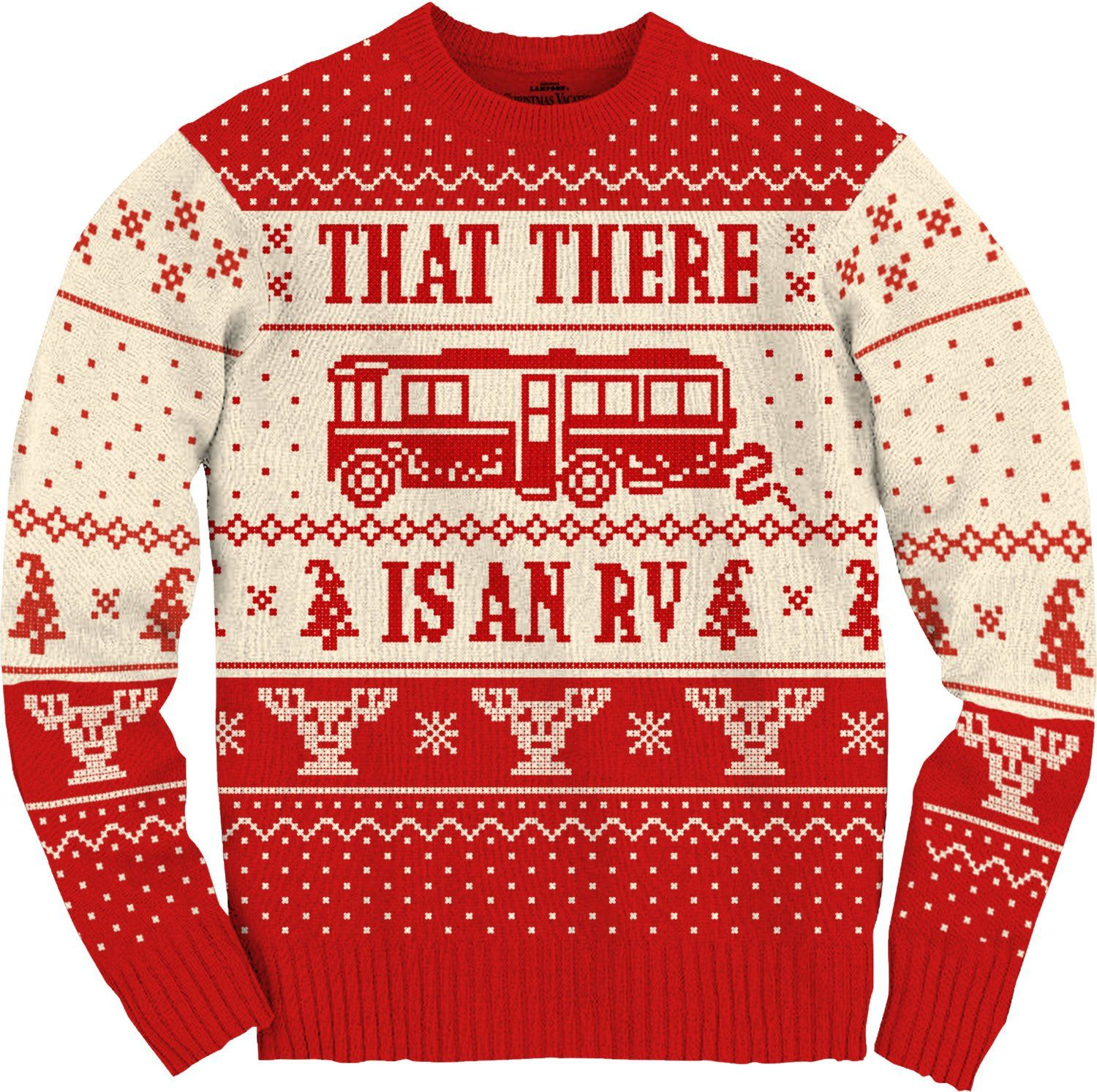 d107f63dcdd4 National Lampoons Christmas Vacation Cousin Eddie RV Ugly Christmas ...