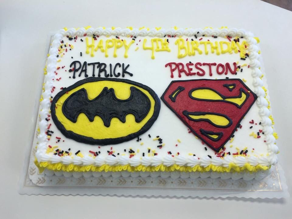 Batman Superman - HomeStyle Bakery Antioch, TN